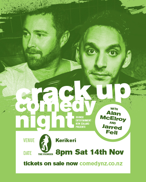 NZ Crack Up Comedy Tour - Kerikeri